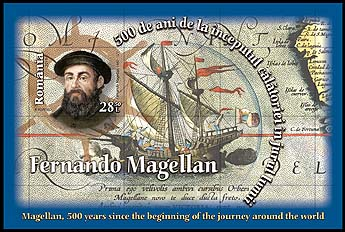 Magellan, 500 years since the beginning of the journey around the world s/s