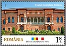 Joint stamp issue ROMANIA - MALTA Architecture Palaces